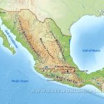 Mexico Physical Map – Map Of California And Mexico Coast