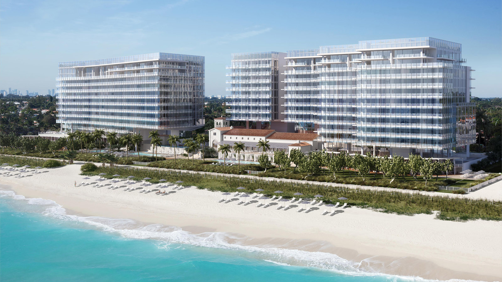 Miami Beach Area Hotel Event Venue | Four Seasons Hotel Surfside - Surfside Florida Map