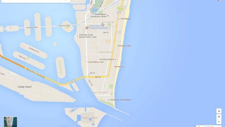 Google Maps Miami Florida