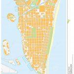 Miami Beach Street Map, Florida Stock Illustration   Illustration Of   South Beach Florida Map