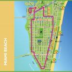 Miami Beach Tourist Map   Miami City Map Printable