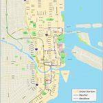 Miami Downtown Map   Miami City Map Printable