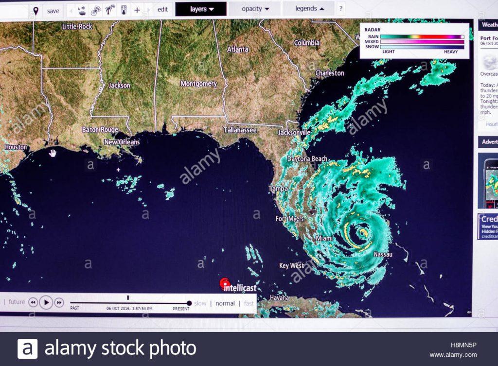 miami florida beach computer monitor intellicast weather