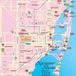 Miami Tourist Map   Miami Florida • Mappery   Florida Tourist Map