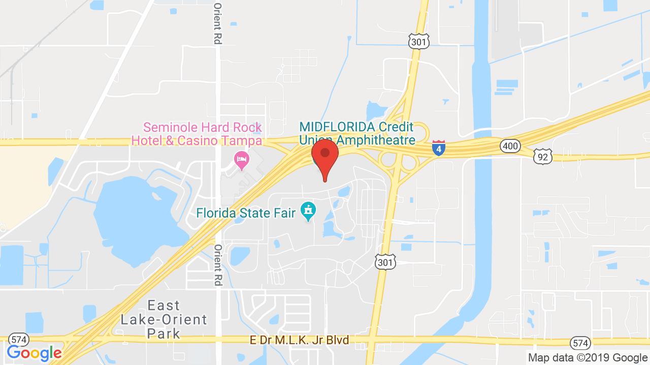Midflorida Credit Union Amphitheatre At The Florida State - Mid Florida Amphitheater Parking Map