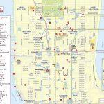 Midtown Manhattan Sightseeing Trip Planner New York Top Tourist   Printable Street Map Of Midtown Manhattan