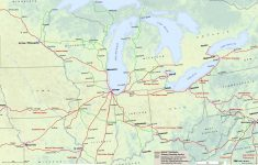 Midwest Amtrak Route Map – Amtrak Texas Eagle Route Map