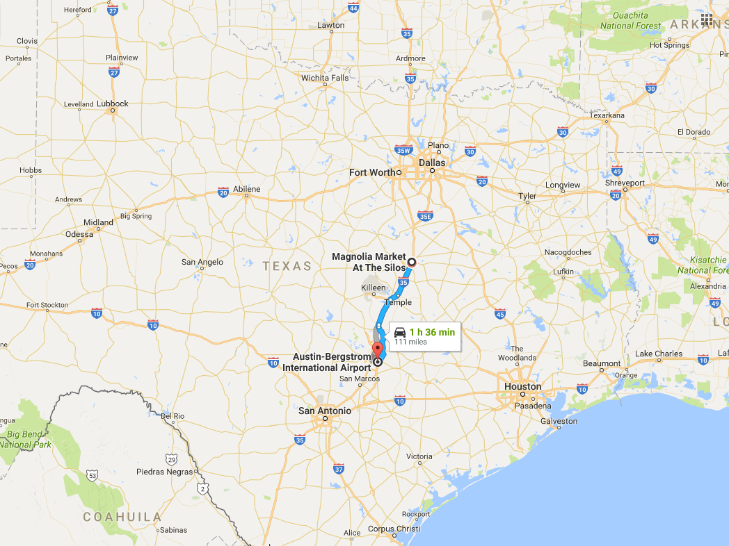 Millions Of Tourists Are Flocking To Waco, Texas, To See 'fixer - Google Maps Magnolia Texas