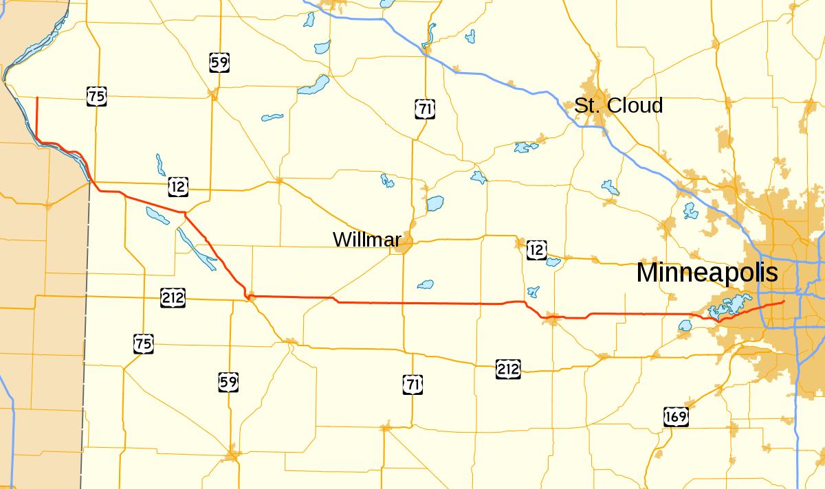 Minnesota State Highway 7 - Wikipedia - Printable Lake Minnetonka Map