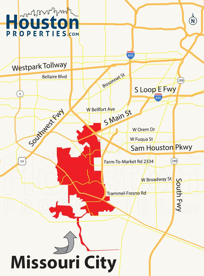 Missouri City Tx Real Estate | Missouri City Homes For Sale - Sienna Texas Map