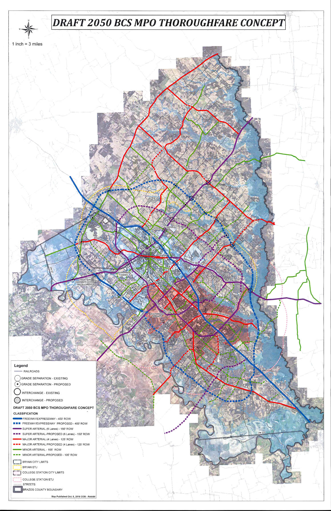 Mixed Reviews For Brazos County Roads Plan   Local News   Theeagle - Brazos County Texas Map