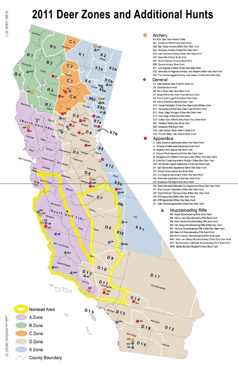 Moonbeam Vetoed The Cali Semiauto Ban - Page 3 - Ar15 - California Lead Free Hunting Map