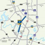 Mopac Express Lane | Central Texas Regional Mobility Authority   I 35 Central Texas Traffic Map