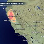 More High Fire Weather Conditions For California Wednesday And Thursday – Fire Watch California Map