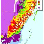 More Sea Level Rise Maps Of Florida's Atlantic Coast   Florida Wetlands Map