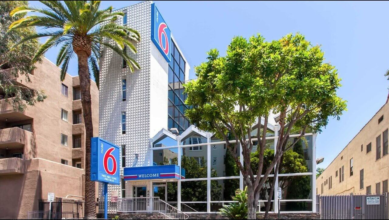 Motel 6 Hollywood Los Angeles Hotel | Hotels Near Hollywood Walk Of Fame - Motel 6 California Map