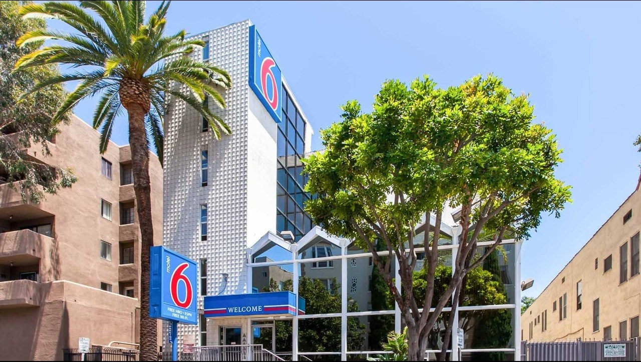 Motel 6 Los Angeles - Hollywood Hotel In Hollywood Ca ($115+ - Motel 6 Locations California Map