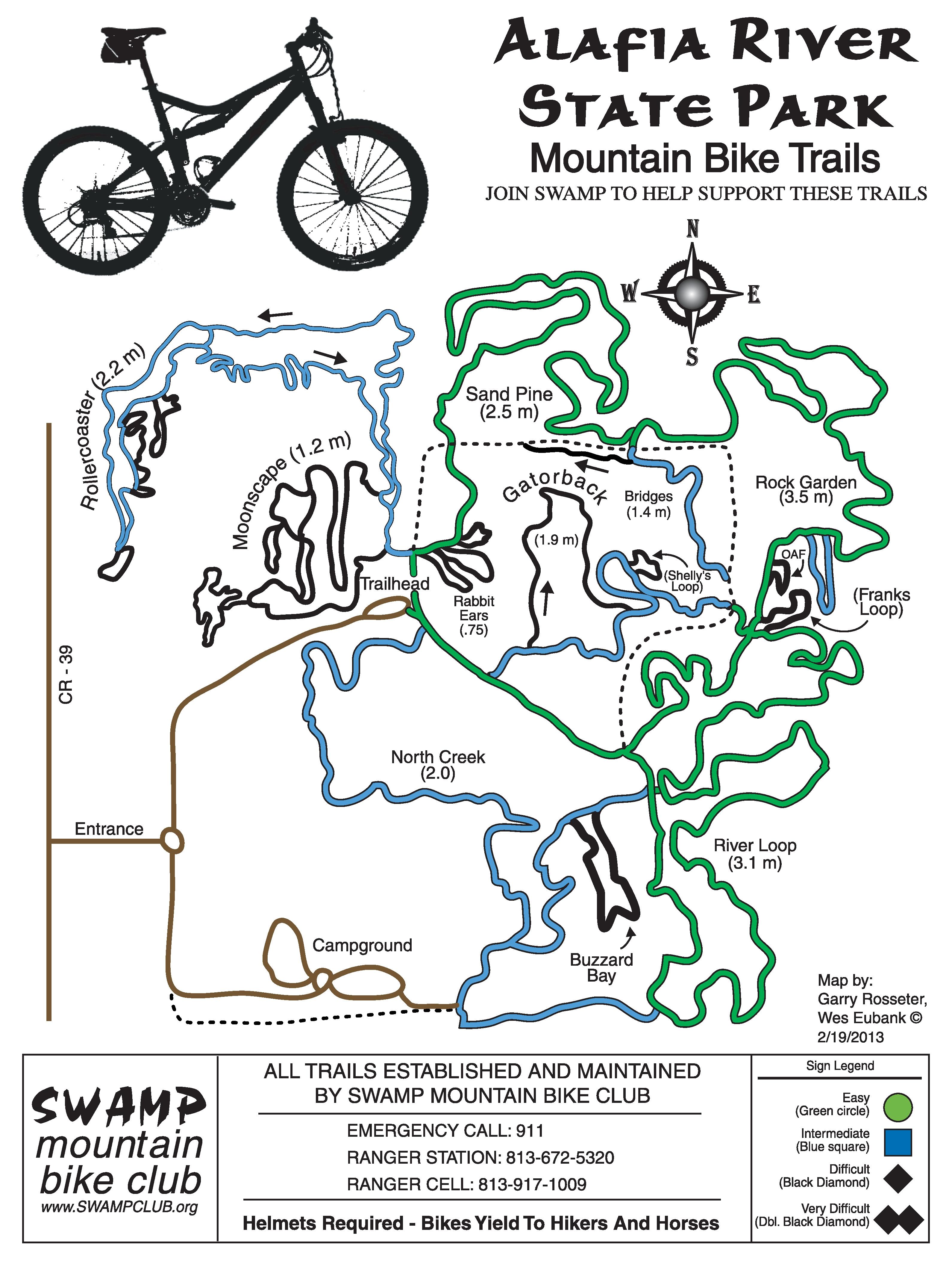 Mountain Biking In Florida   The Trail Mayor - Florida Mountain Bike Trails Map
