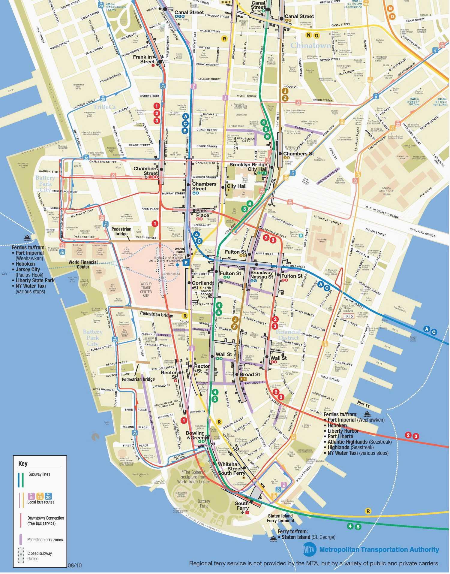 Mta Map New York Inspirational Nyc Subway Map Manhattan Ly - Nyc Subway Map Manhattan Only Printable