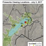Music And Fireworks At The Lake   Lake Meredith National Recreation   Fritch Texas Map
