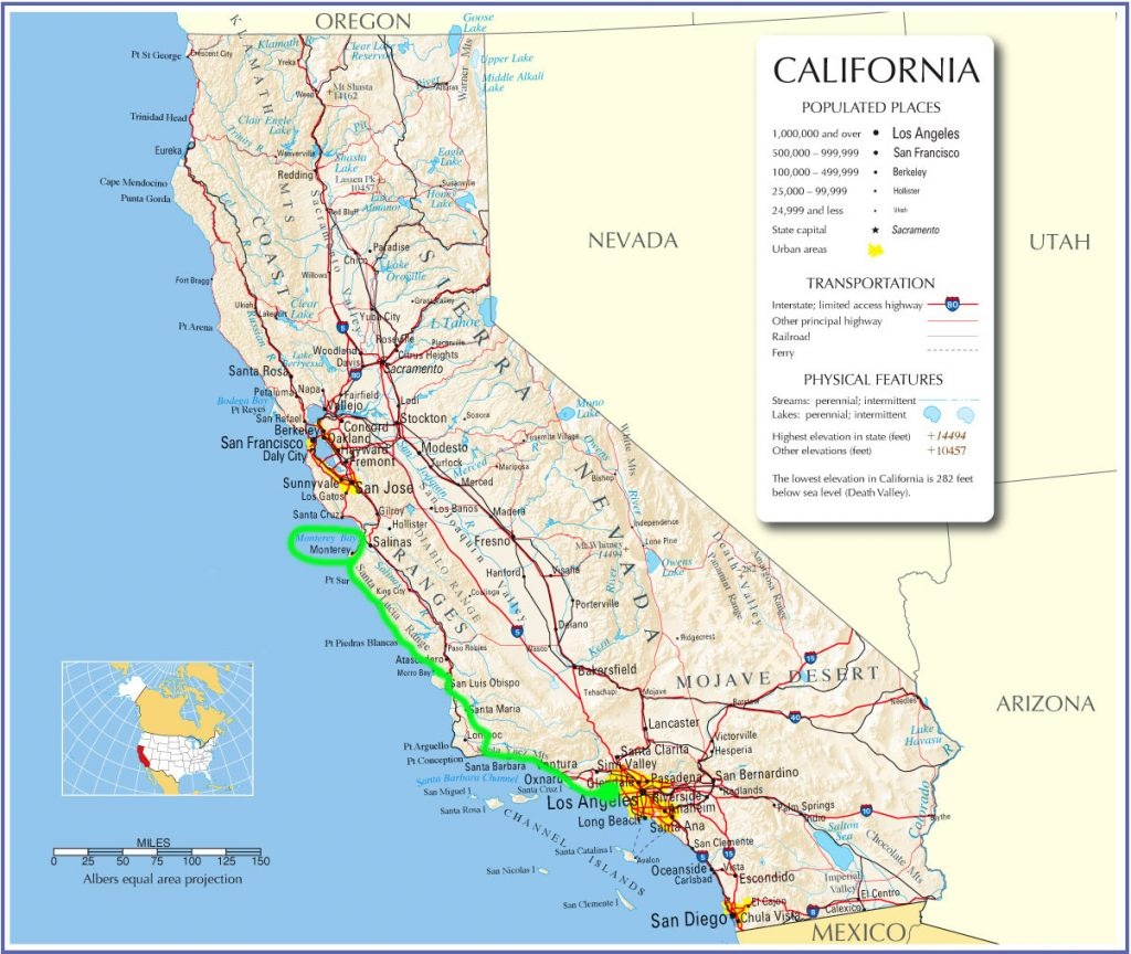 My Mission California Hwy California River Map California Hwy Map - California Highway Map Free