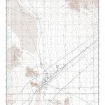 Mytopo Baker, California Usgs Quad Topo Map   Baker California Map