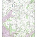 Mytopo Mabank, Texas Usgs Quad Topo Map   Mabank Texas Map