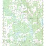Mytopo Newberry Sw, Florida Usgs Quad Topo Map   Newberry Florida Map