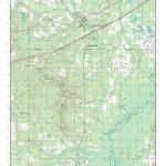 Mytopo Ponce De Leon, Florida Usgs Quad Topo Map   Usgs Topographic Maps Florida
