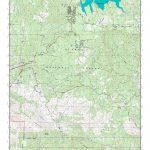 Mytopo Shaver Lake, California Usgs Quad Topo Map   Shaver Lake California Map