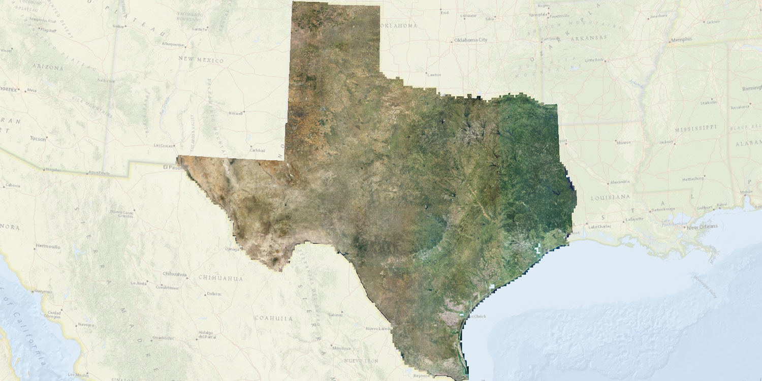 Naip 2016 Statewide Aerial Imagery – Now Available | Tnris - Texas - Aerial Map Of Texas