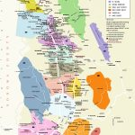 Napa Valley Winery Map A Printable Maps Map Of California Wine – Sonoma Wineries Map Printable