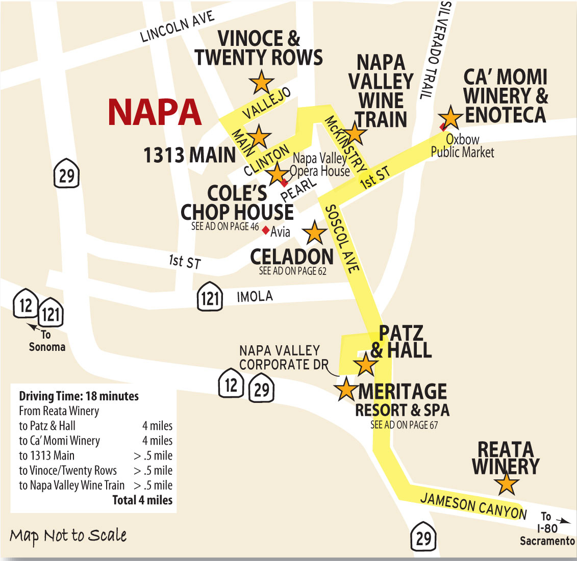 Napa | Wine Country This Week Magazine Wineries, Wine Tasting, Wine - Wine Tasting California Map
