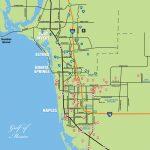 Naples Daily News Community Locator Map   Vanderbilt Beach Florida Map