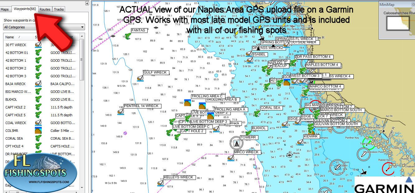 Naples Florida Fishing Maps | Gps Fishing Maps - South Florida Fishing Maps