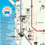 Naples Trolley   Route Map | Fav Places In My Home State..florida   Vanderbilt Beach Florida Map
