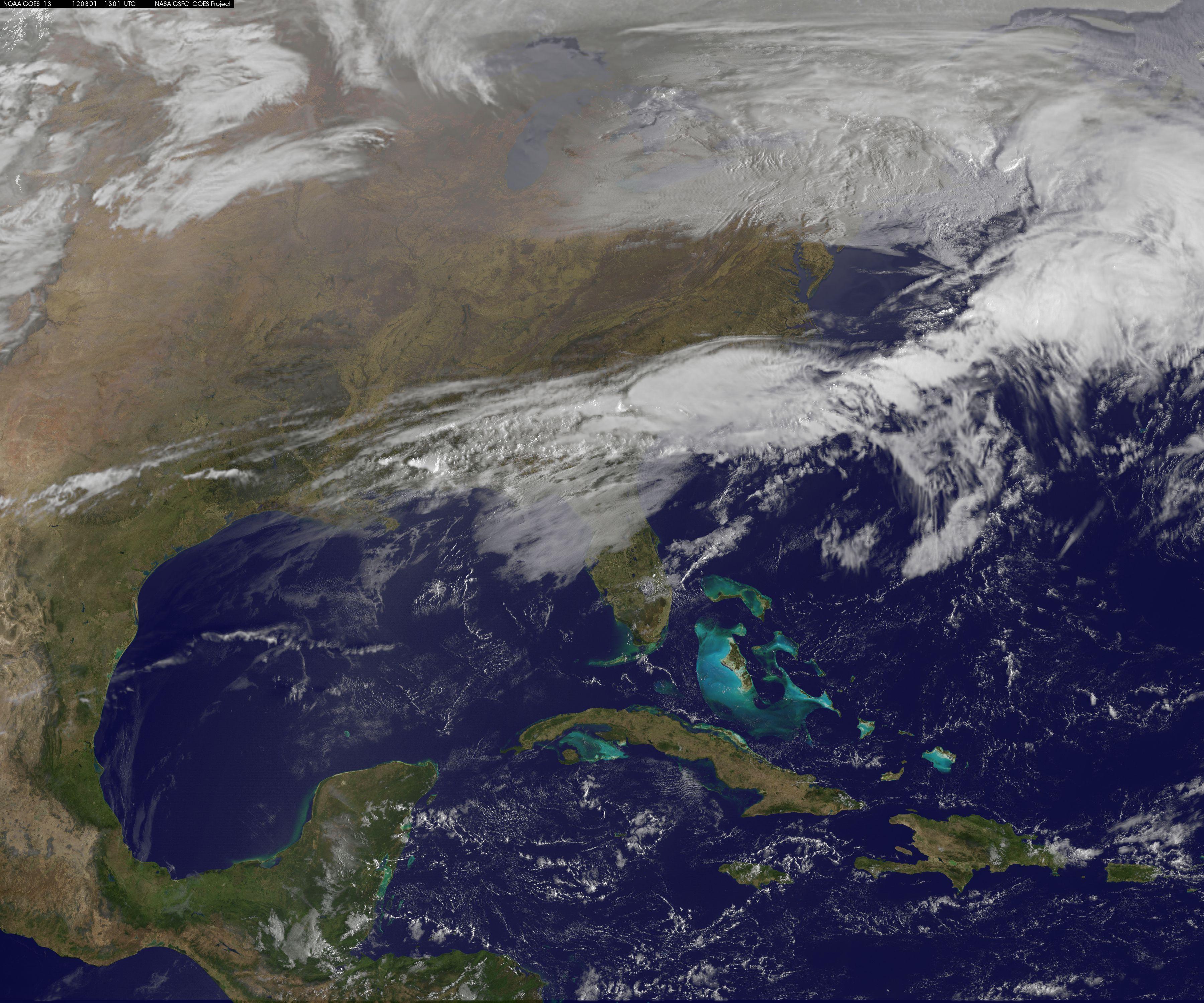 Nasa - Nasa Satellite Movie Shows Movement Of Tornadic Weather System - Texas Satellite Weather Map