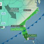 Nascar 2015 At Homestead Miami Weather Forecast: Threat Of Rain   Florida Weather Forecast Map