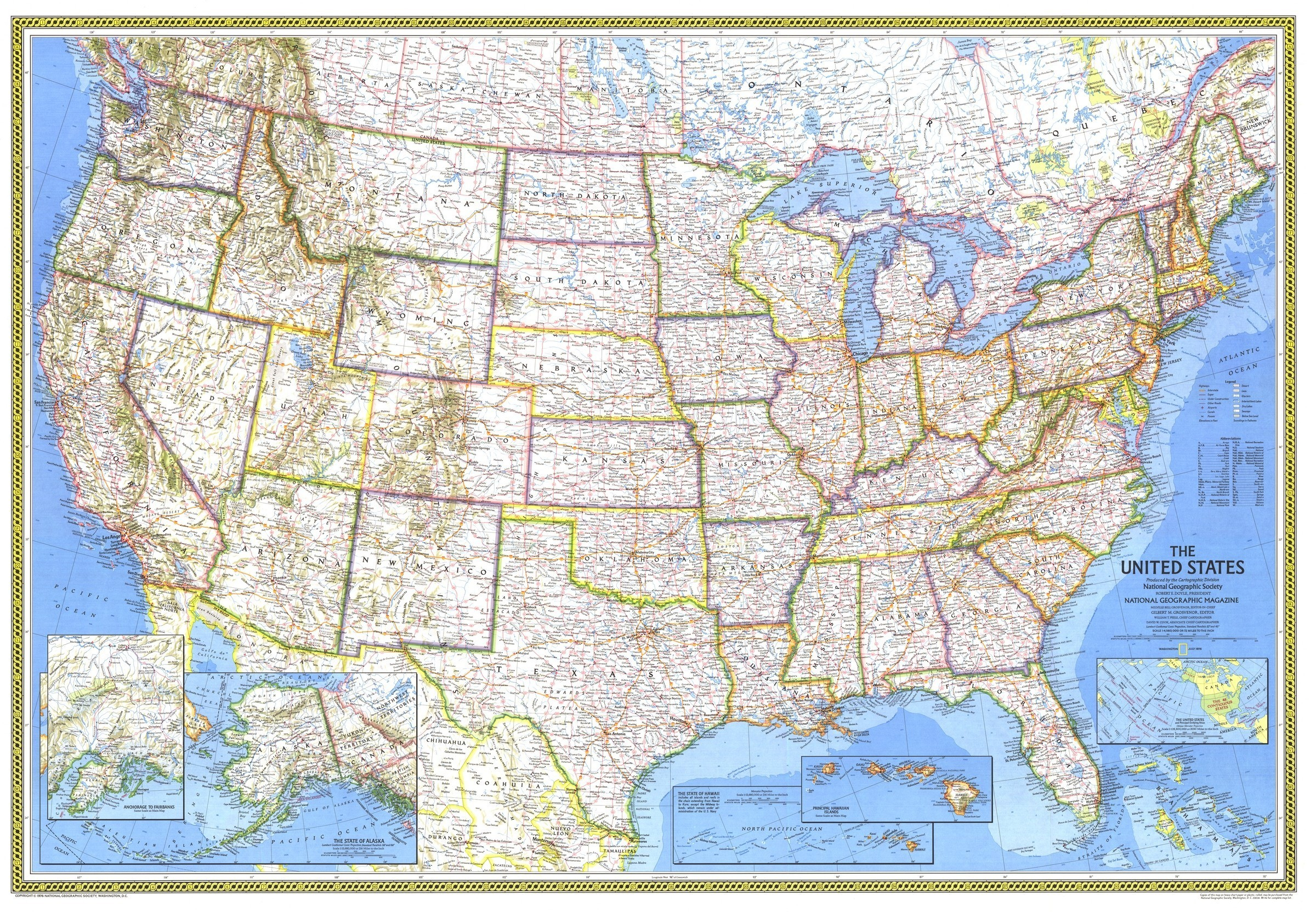 National Geographic Us Map Printable Valid United States Map Image - National Geographic Printable Maps