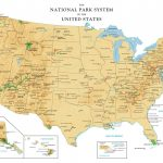 National Park Map Of The Us National Parks Unique Printable Map Us   Printable Map Of National Parks