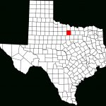 National Register Of Historic Places Listings In Jack County, Texas   Jack County Texas Map
