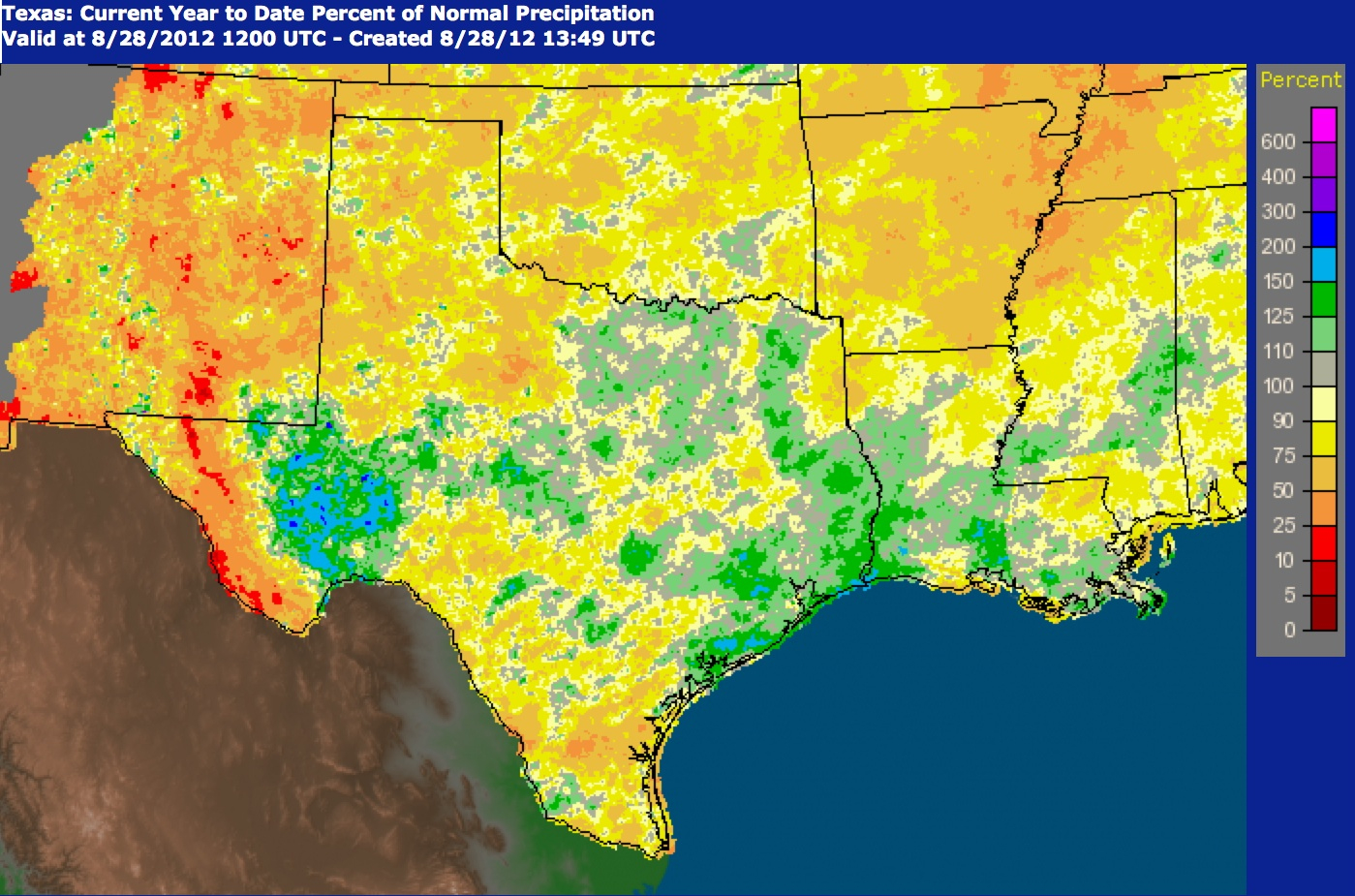 National Weather Service Precipitation Map | Agrilife Today - Texas Weather Map Today