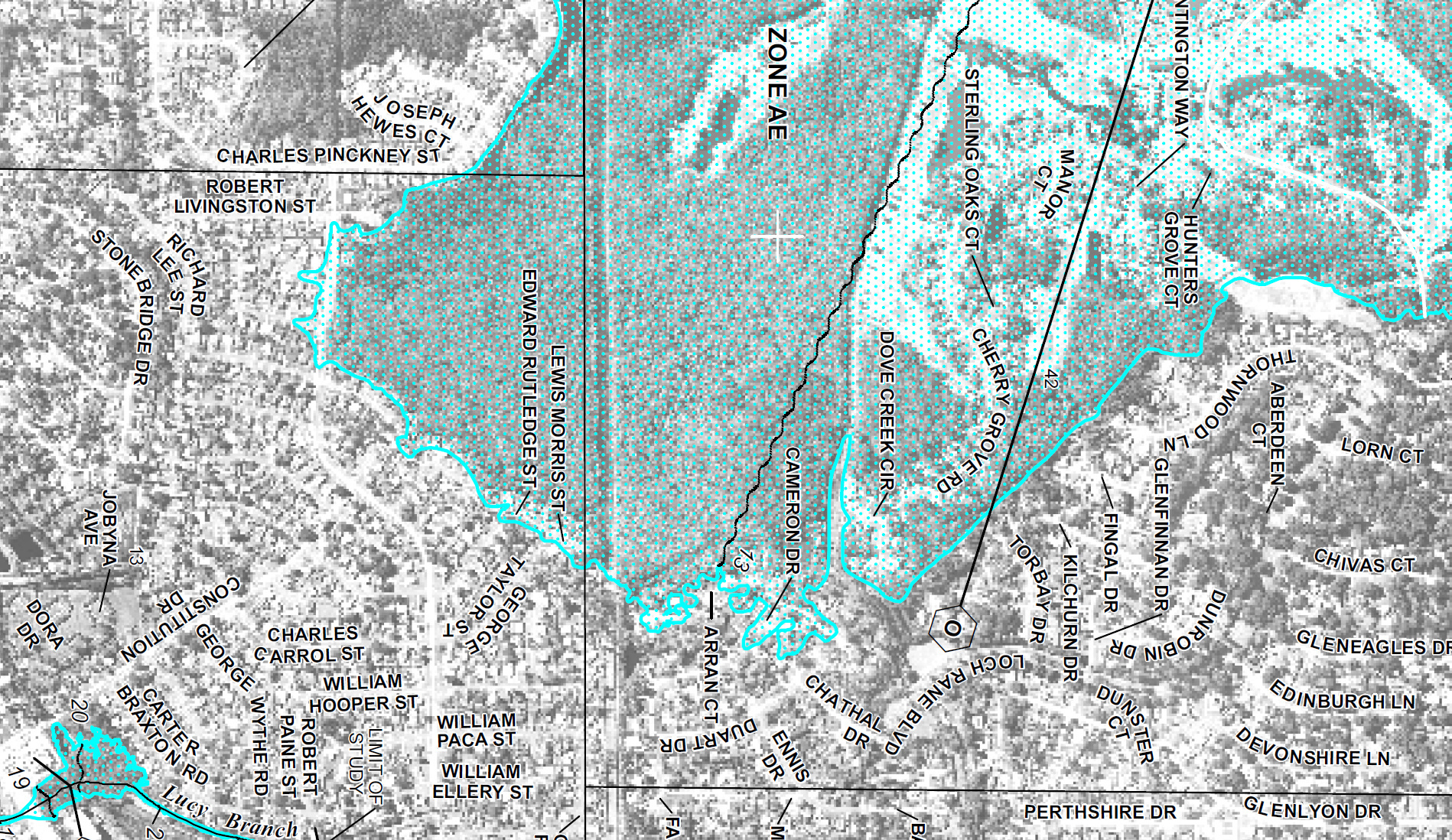 New Fema Flood Map | Loch Rane Neighborhood In Orange Park, Fl - Flood Plain Map Florida