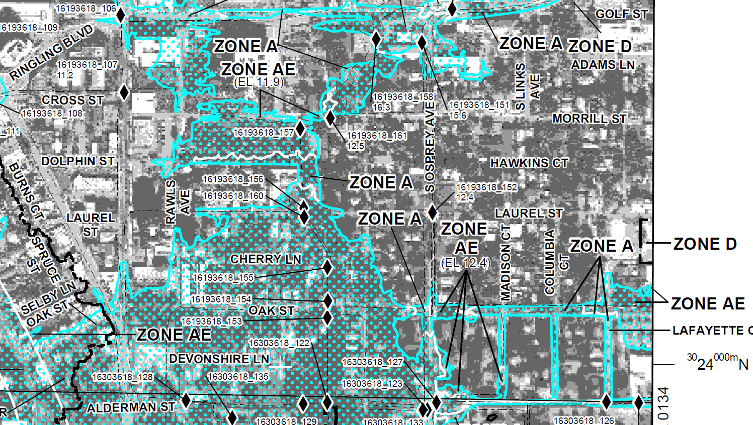 New Fema Flood Maps | Historic Laurel Park - Sarasota Florida Flood Zone Map