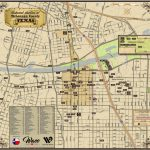 New Map Available – Historical Markers Of Mclennan County – Waco   Google Maps Waco Texas