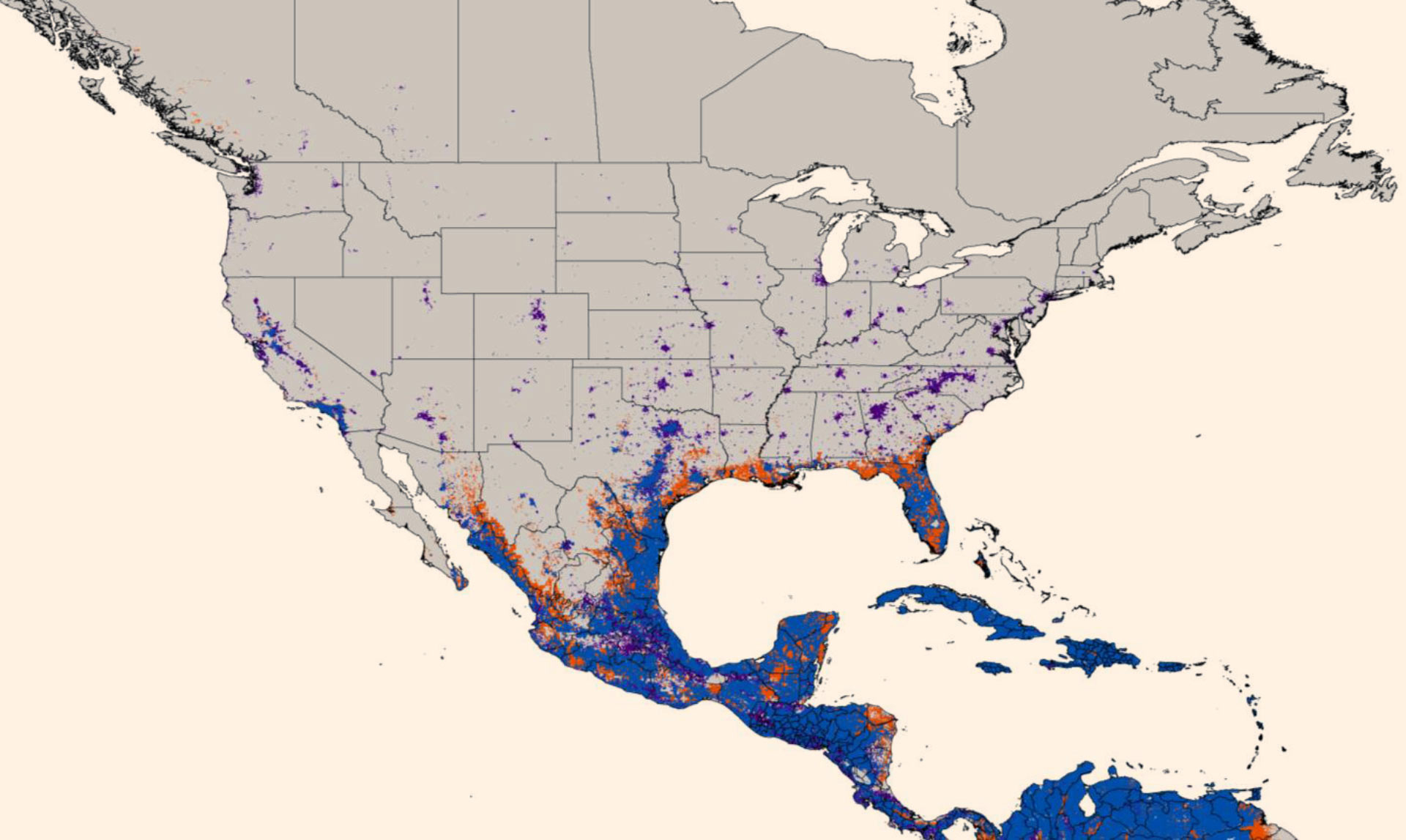 New Map Predicts Spread Of Zika Virus | Medicine | Sci-News - Texas Zika Map