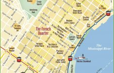 New Orleans French Quarter Map – New Orleans Street Map Printable