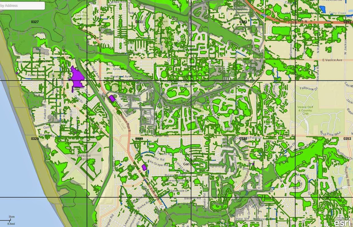 New Sarasota County Flood Maps, Part 2 - Venice Florida Flood Map