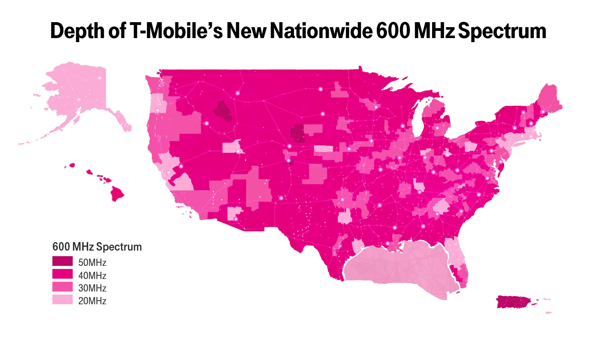 New T-Mobile Upgrade May Boost Your Coverage—If You Have The Right - Verizon Lte Coverage Map California