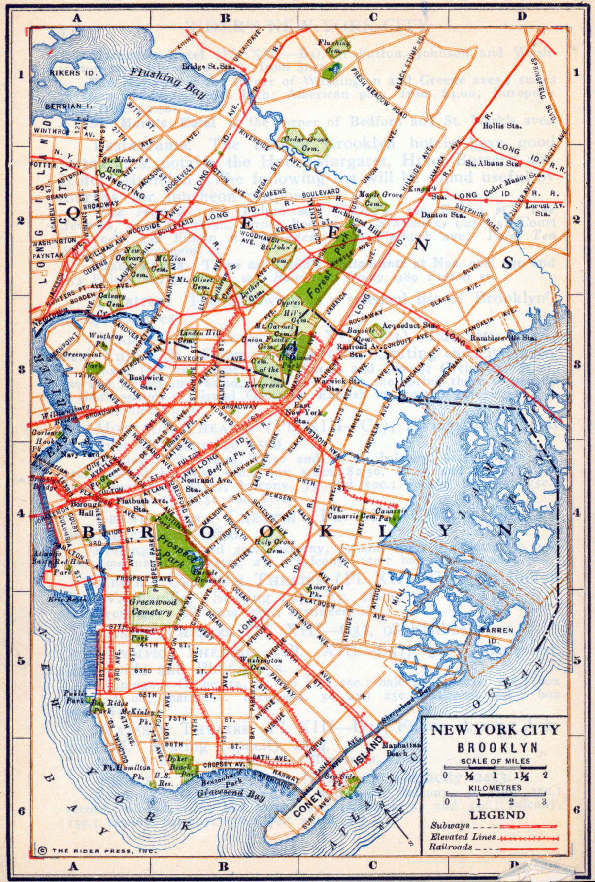 New York Maps - Perry-Castañeda Map Collection - Ut Library Online - Street Map Of New York City Printable